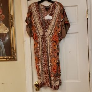 ANGIE Floral Dress Size 2X